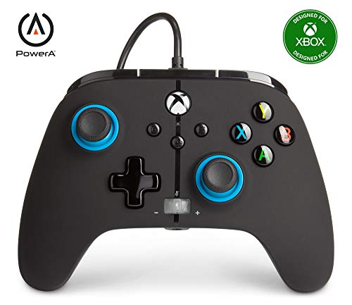 PowerA geavanceerde bedrade controller voor Xbox Series X|S – blauw hint