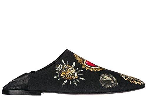 Dolce & Gabbana Women's Slippers Sandals Zendaya Black US Size 8 CI0046AH748HNM69