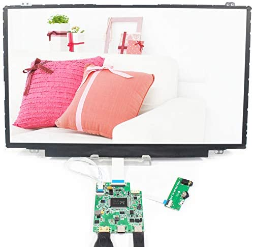 VSDISPLAY 14″ 14 INCH 1920X1080 IPS LCD SCREEN NV140FHM DISPLAY WORK WITH HD-MI TYPE-C LCD CONTROLLER BOARD