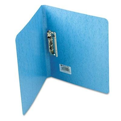 Acco - 4 Pack - Presstex Grip Punchless Binder With Spring-Action Clamp 5/8'' Cap Light Blue ''Product Category: Binders & Binding Systems/Binders''