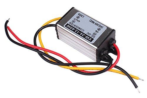 Blackr 24 V auf 12 V DC Buck Konverter Reduzierregler 5 A 60 W Step Down Netzteil Adapter