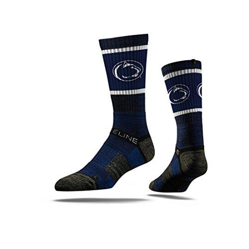 Strideline NCAA Penn State Nittany Lions Premium Athletic Crew Socks, Navy, One Size
