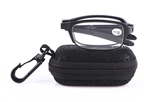soolala-black-mini-tr90-folding-reading-glasses-with-clip-holder-zipper-case-7-strengths-35d