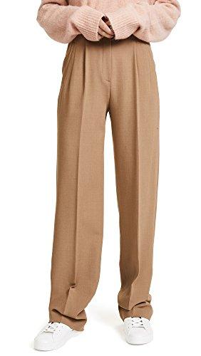 high waisted pleated dress pants - 2