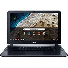 2018 Acer 15.6″ HD WLED Chromebook 15 with 3X Faster WiFi Laptop Computer, Intel Celeron Core N3060 up to 2.48GHz, 4GB RAM, 16GB eMMC, 802.11ac WiFi, Bluetooth 4.2, USB 3.0, HDMI, Chrome OS