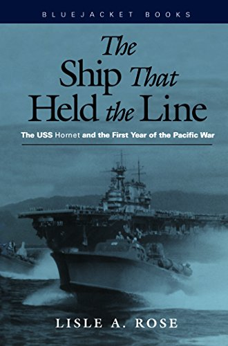 The Ship that Held the Line: The U.S.S. Hornet and the First Year of the Pacific War (Bluejacket Books)