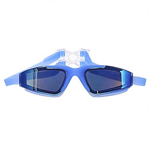 A-szcxtop Plaqué objectif anti UV et brouillard Lunettes de natation Lunettes de sport polarisées Lunettes pour nager Convient pour homme et femme