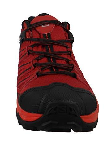 vapor Blue Senderismo Para 3 Zapatillas Salomon Ultra Rojo Red X De Dalhia fiery Gtx Prime red 000 Hombre 08xqZnwa