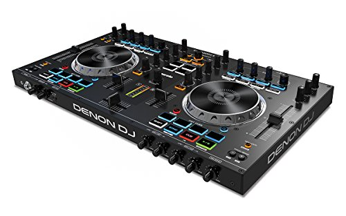 Denon DJ MC4000 | Premium 2-Channel DJ Controller with Serato DJ Lite download (24-bit / 48 kHz)