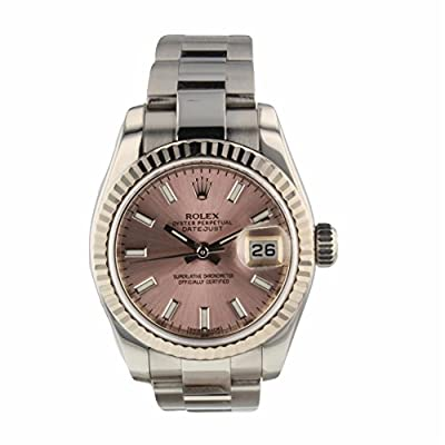 Rolex Datejust Automatic-self-Wind Female Watch 179174 (Certified Pre-Owned) by Rolex