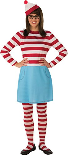 Rubie's Women's Waldo Wenda Costume, As Shown, Standard