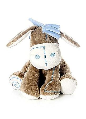 Bebé infante peluche animal de felpa juguete azul burro asno para recién nacido bebé niño