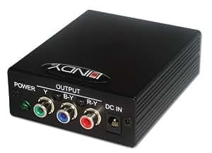 Lindy - Conversor de Euroconector a vídeo componente [importado]