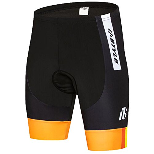 AKAAYUKO Cycling Shorts Men Padded Bicycle Riding Pants Bike Biking Cycle Wear Tights