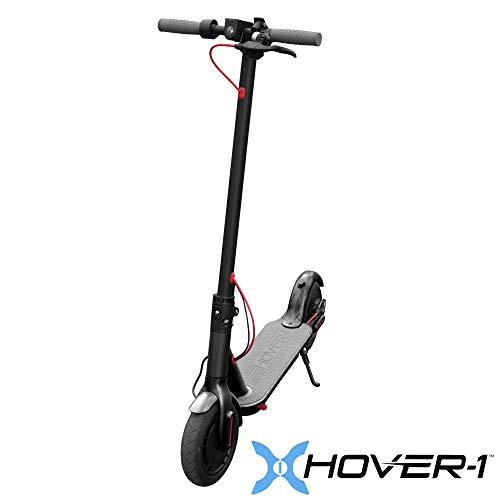 1 Scooter - Hover-1 Journey- Commuter Electric Fold-able Scooter, Sleek Design with LED Light, Electronic and Foot Brake, Portable, 8.5 inch Tires