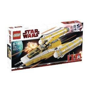 Lego Star Wars 8037 Anakins Y Wing Starfighter By Lego