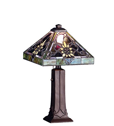 Solstice Feeder (Tiffany Style Stained Glass Solstice Light Accent Table Lamp)