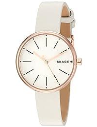 Skagen  Women's  SKW2595 Signatur White Leather Watch