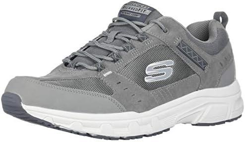 Skechers Mens Oak Canyon Grey Size: 6.5