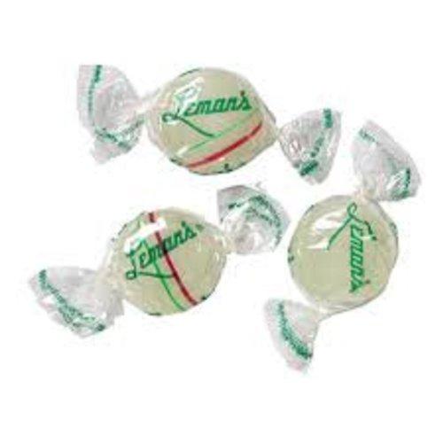 Lemans Mint Buttons Hard Candy - Peerless Hard Candy