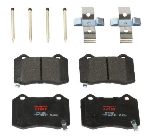 TRW TPC1053 Premium Ceramic Rear Disc Brake Pad Set