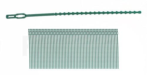 Vanitek 60Pc Adjustable Plant Ties 8.5