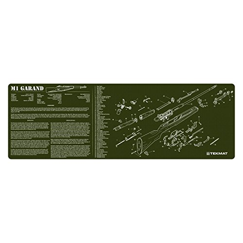 TekMat M1 Garand Cleaning Mat / 12 x 36 Thick, Durable, for sale  Delivered anywhere in USA