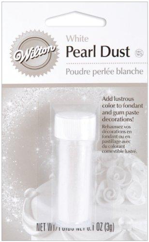 Wilton Pearl Dust (Pearl Dust 3g-White)