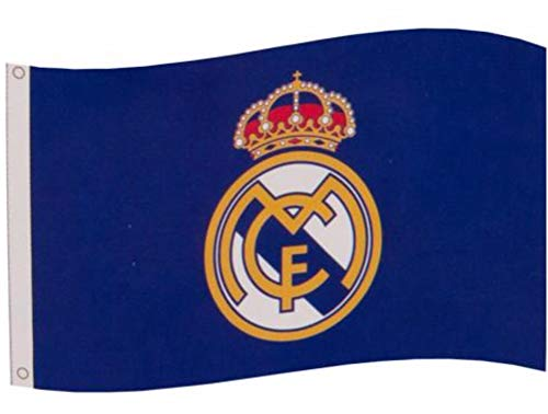 Real Madrid FC Core Crest Flag