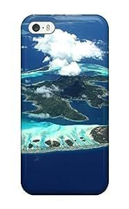 Anti-scratch Case Cover Protective Bora Bora Case For Iphone 5/5s