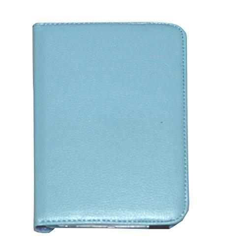 Samsung Galaxy Tab 3 7.0 Case, JYtrend (R) 360 Rotating Stand Cover for Galaxy Tab 3 7-inch SM-T210 T210R SM-T211 SM-T215 SM-T217 T217A T217S T217T SM-T2105 GT-P3220 GT-P3210 GT-P3200 (Blue)