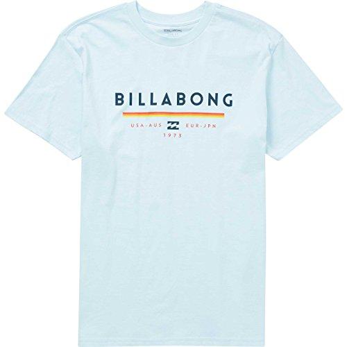 Billabong Men's Unity Tee, Coastal Blue, (Billabong Blue Shirt)
