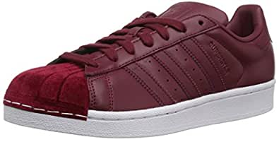 adidas Originals Women's Shoes Superstar W Sneaker, Collegiate  Burgundy/Collegiate Burgundy/White,