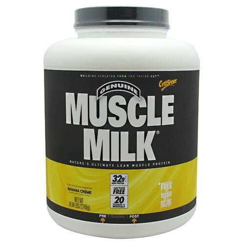 CytoSport Muscle Milk - Banana Creme - 4.94 lb (2240 g)
