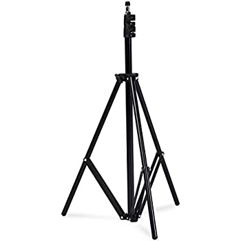 PhotoSEL Studio Light Stand, 2.6 to 6.3 ft, Lightweight, Studio Lighting Flash Strobe, ST231