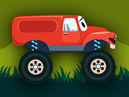 Color The Magic Watch Of (Red Monster Truck)