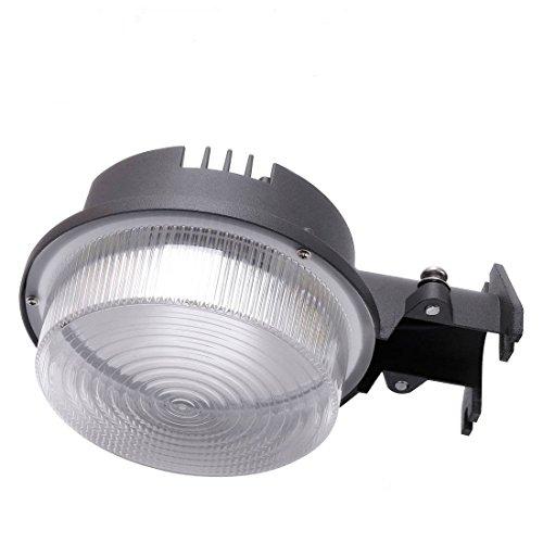 MINGER 30W Dusk to Dawn LED Outdoor Barn Light Photocell Included, 5000K Daylight 3500LM, Super Bright LED Floodlight, Yard Light for Area Lighting, (ETL-listed)