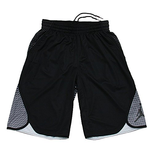 e337c74b046508 Nike Mens Jordan Flight Victory Graphic Basketball Shorts Black Black  800911-011 Size Small - Buy Online in UAE.