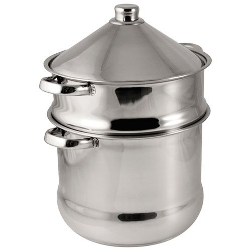 Baumalu - 340971 - Stainless Steel Tajine Couscouspot 14 L
