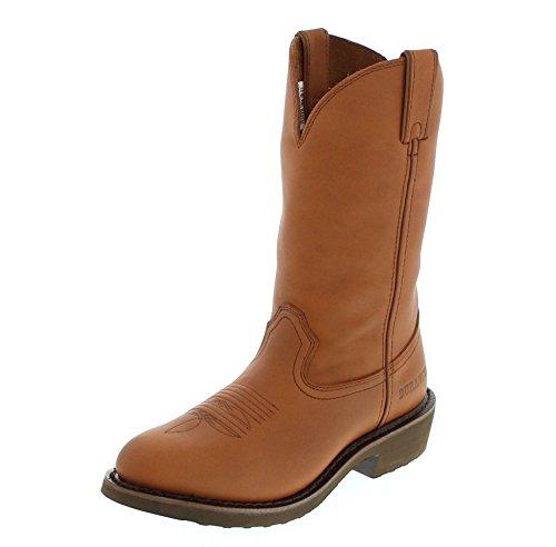 Fb Mode Laarzen Durango Laarzen Pull-on 27602 D Tan / Heren Western Rijlaarzen Bruin / Werk Boot / Rijlaarzen / Boerderij En Ranch Boot Tan (breed D)