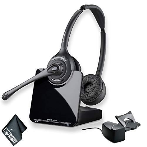 Plantronics CS520 Wireless Headset System Bundle + HL10 Handset Lifter