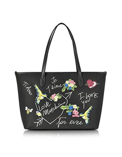 Love Moschino Femme JC4276PP03KJ100A Noir Cuir Artificielle Sac Tote