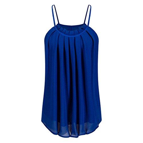 PRIAMS 7 - Camiseta sin mangas - para mujer Azul Zafiro