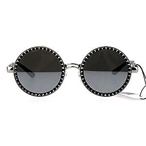 Steam Punk Victorian Metal Round Circle Lens Sunglasses