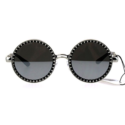 Steam Punk Victorian Metal Round Circle Lens Sunglasses