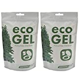 Eco Gel Port-A-Potty and Emergency Toilet Chemicals, Eco-Friendly Liquid Waste Gelling and Deodorizing Powder. 2 Pack