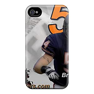 YdTKT11207carpB Case Cover Protector For Iphone 4/4s Chicago Bears Case