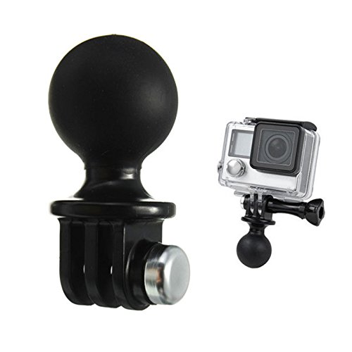 1x Portable RAM Mount Tripod Ball Head Adapter For GoPro Hero 1 2 3 3+ 4 Camera (Camera Pro Head Go)