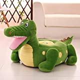 WAYERTY Children Sofa, Kid Sofa Mini Cartoon Baby seat Boy and Girl Single Lazy Reading Upholstered Bedroom Kid Chair-GreenC