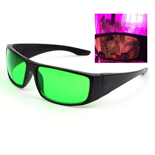 Indoor Hydroponics LED Grow Light Room Glasses Anti UV and red Lights for Intense LED Lighting Visual Eye - Led Room Grow Lights